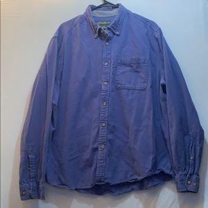 Eddie Bauer Long Sleeve Button Down Shirt XXL